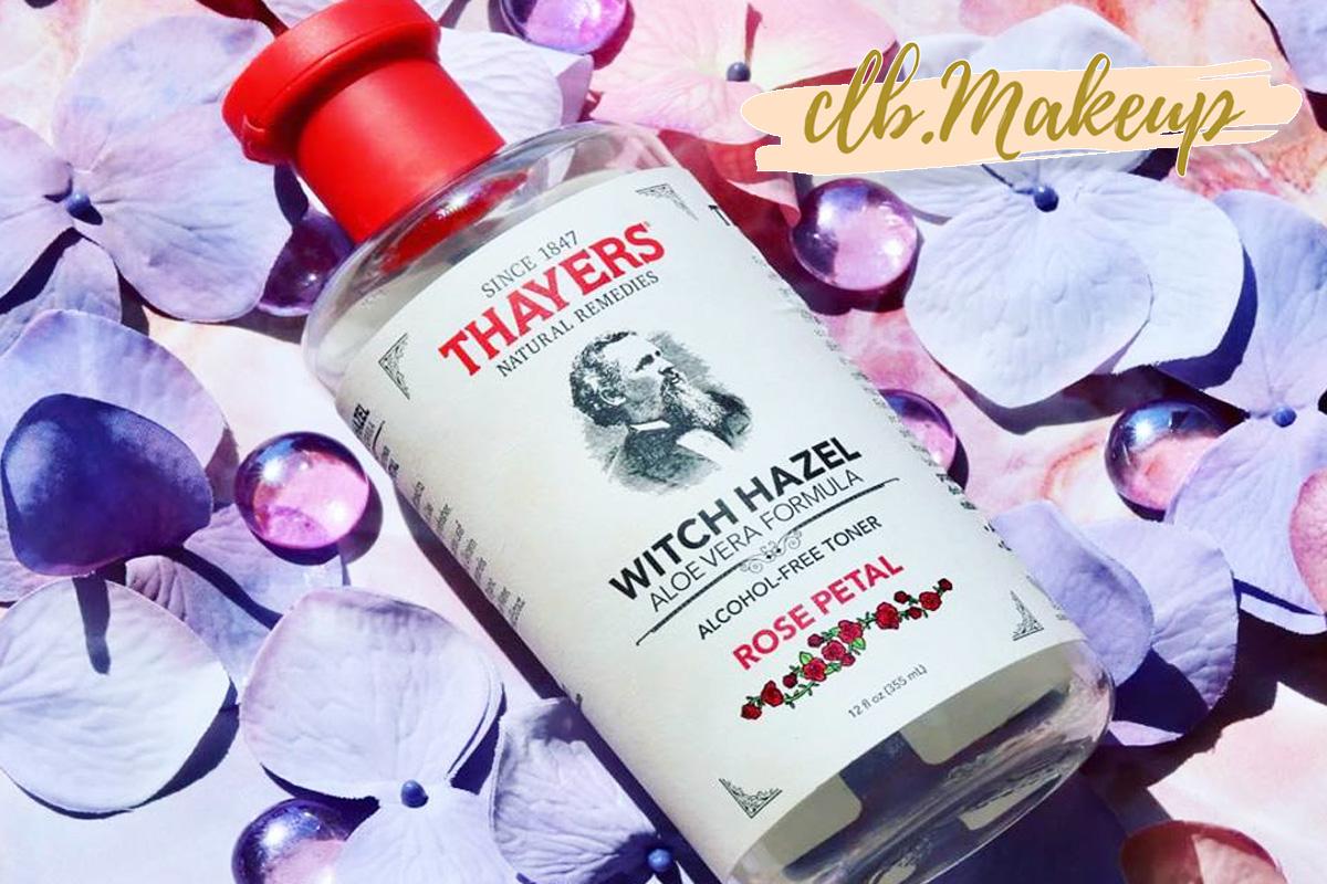 Toner Thayer hương hoa hồng thích hợp cho cô nào ưa thích mùi hương dịu nhẹ