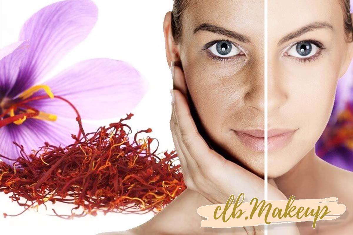 Nhụy hoa nghệ tây giúp tẩy da chết, từ đó làm da căng mịn hơn