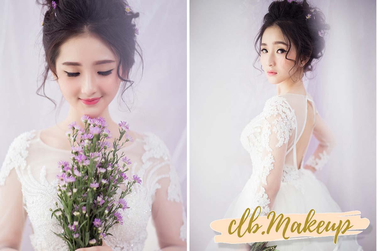 Xu hướng trang điểm cô dâu dễ thương