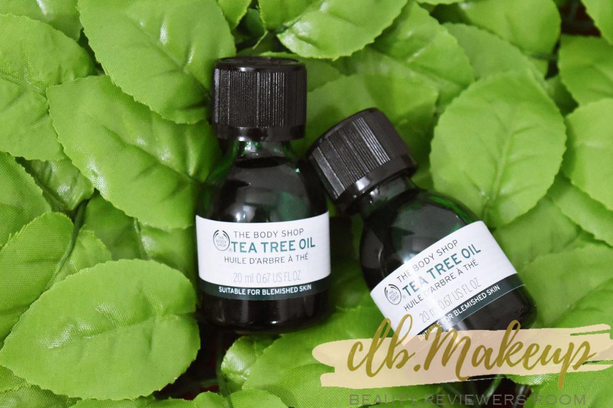 The Body Shop the tea tree oil