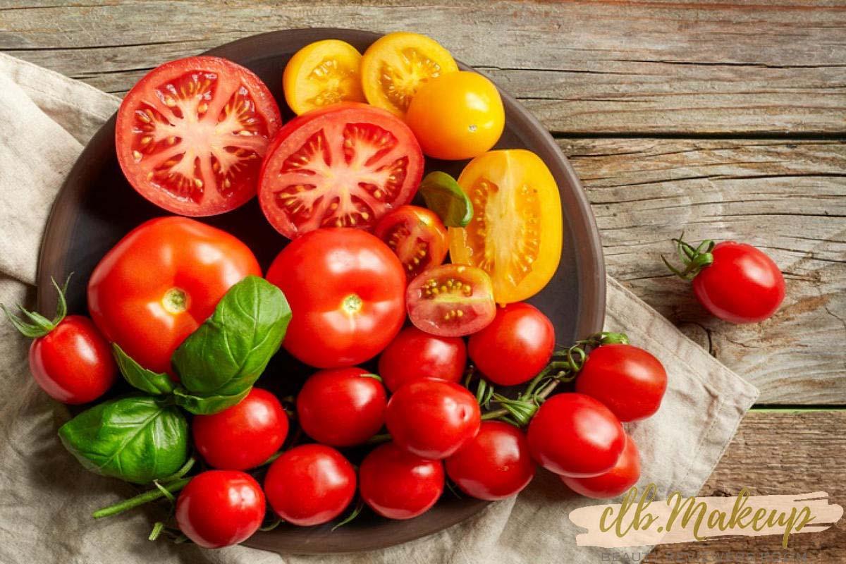 Trị thâm quầng mắt hiệu quả tại nhà bằng cà chua