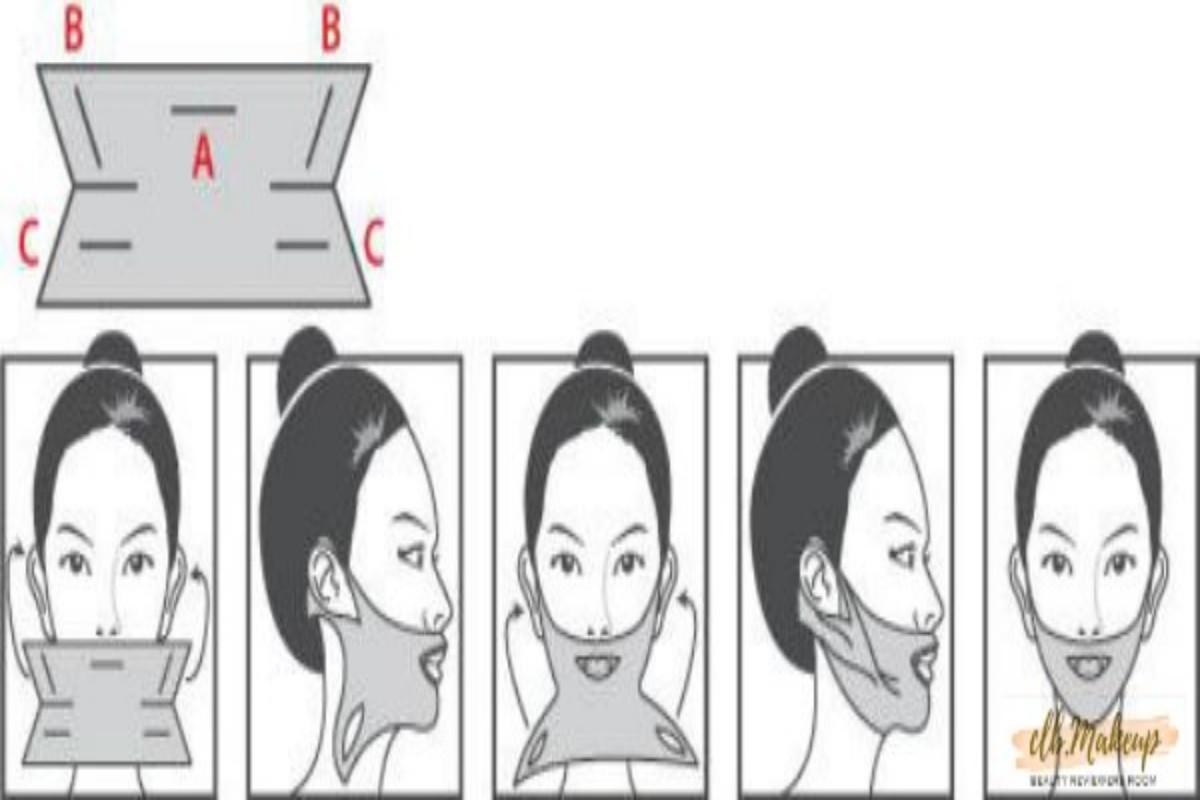 5 bước đắp mặt nạ V line Mediheal
