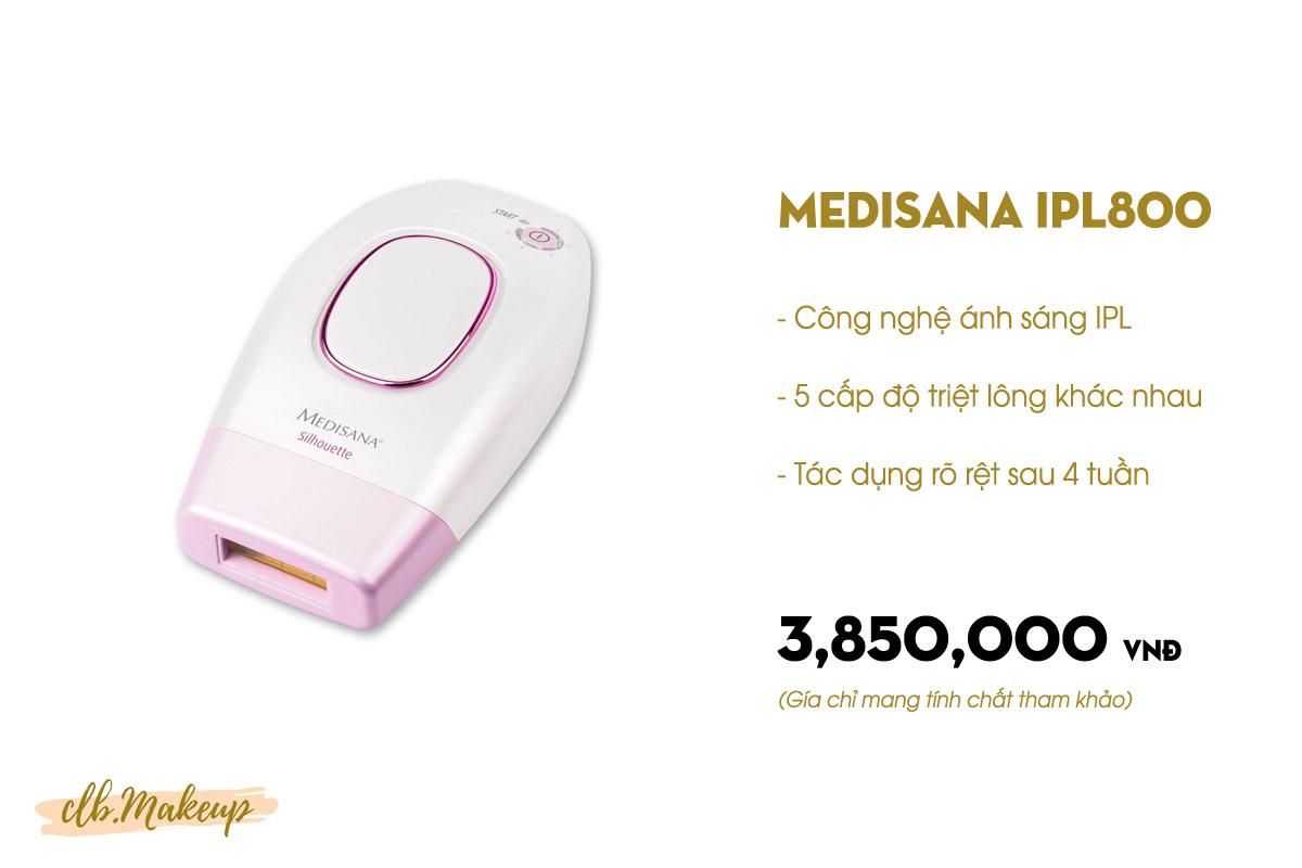 Máy triệt lông cầm tay Medisana IPL800
