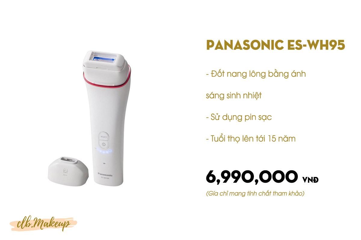 Máy triệt lông Panasonic ES-WH95 là loại máy triệt lông tốt nhất hiện nay