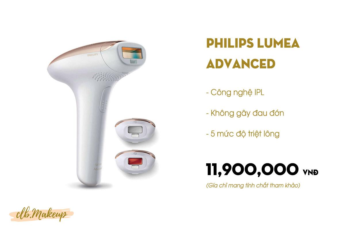 Máy triệt lông Philips Lumea