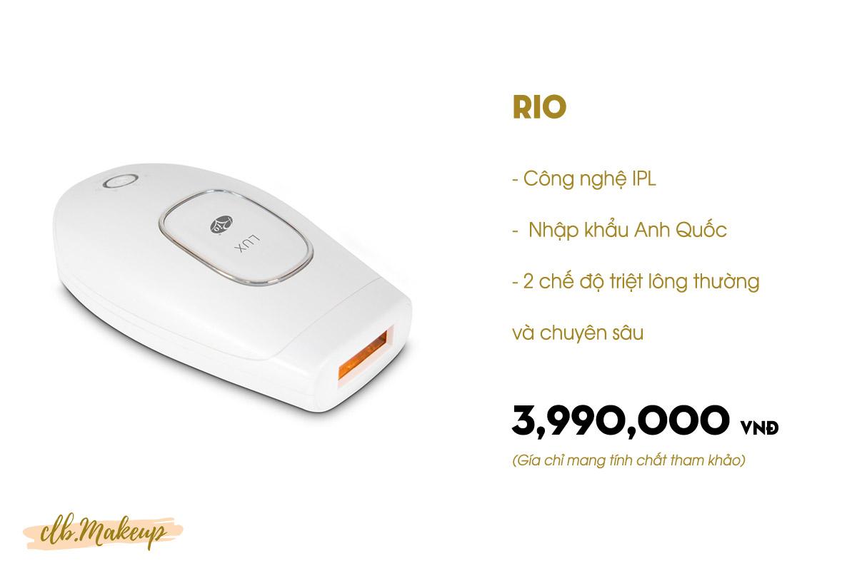 Máy triệt lông Rio