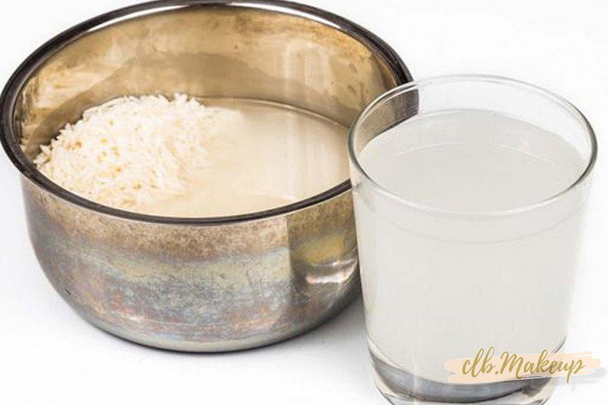 Trị mụn ẩn bằng nước vo gạo