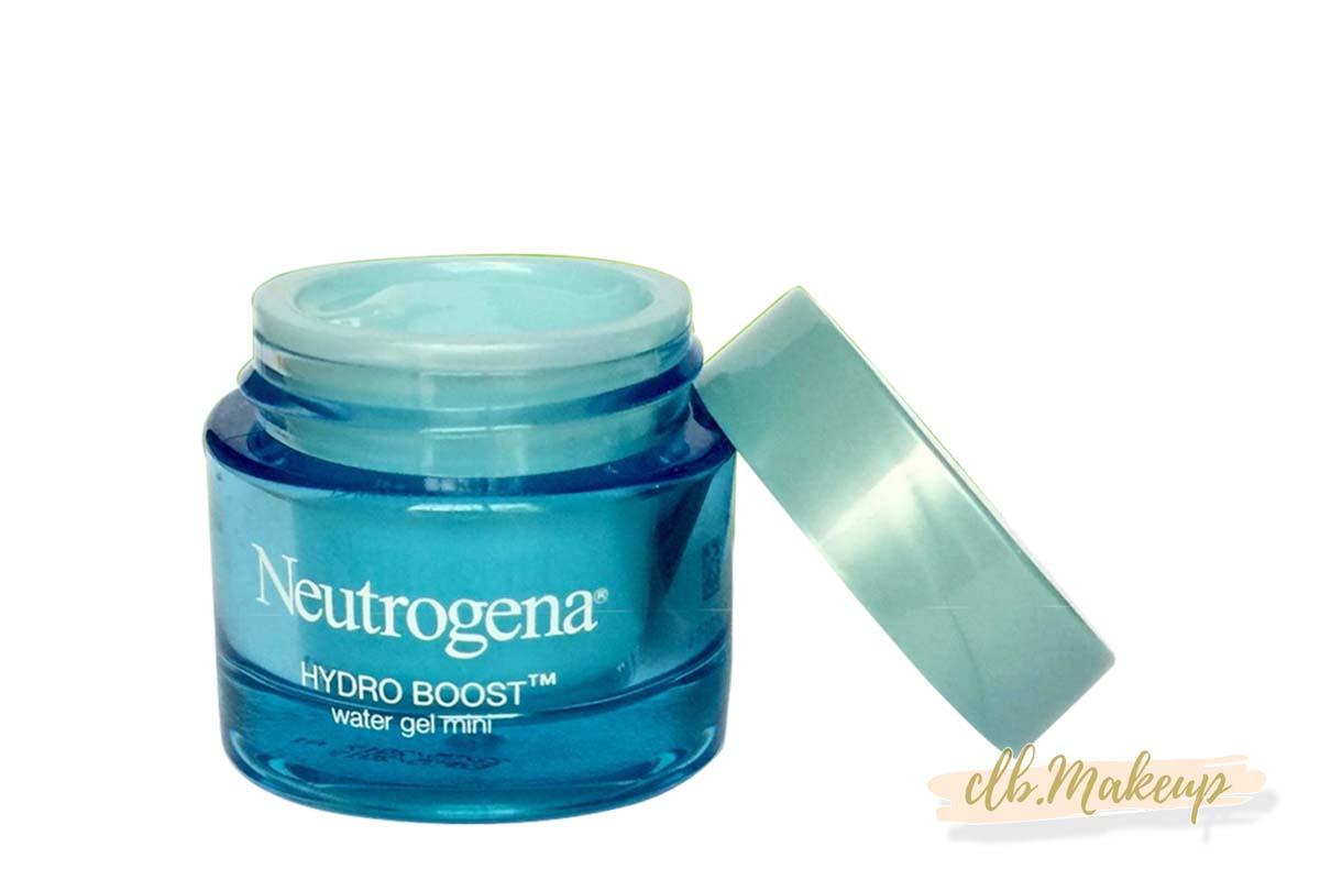 Kem dưỡng ẩm Neutrogena ở dạng hũ nhựa với màu xanh khá bắt mắt